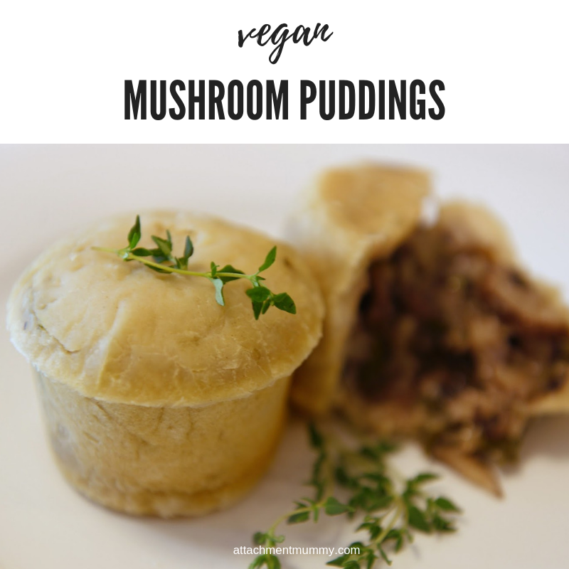 Oriental Mushroom Pudding #vegan #vegetarian