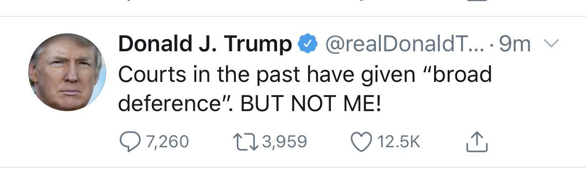 President billionaire taking this well.