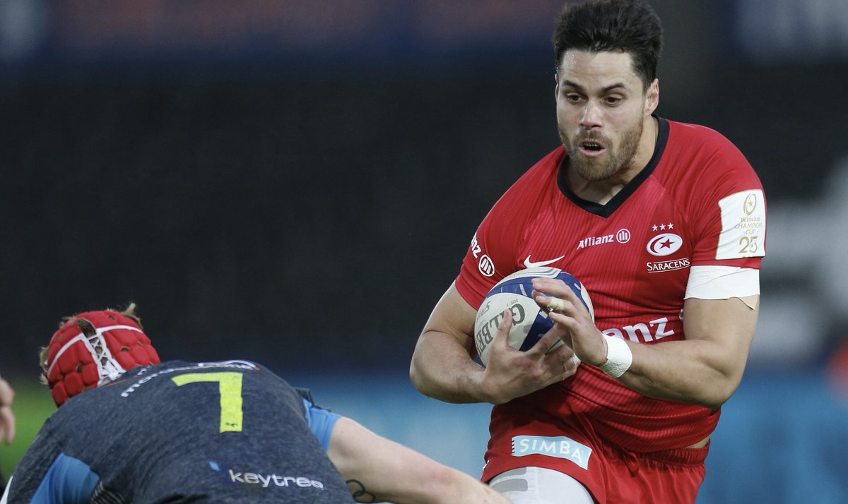 test Twitter Media - New contract at Saracens. ✍️  Scotland winger Sean Maitland has signed a new two-year deal with the club.  https://t.co/8GumWi6QOv https://t.co/OMeINaVszV