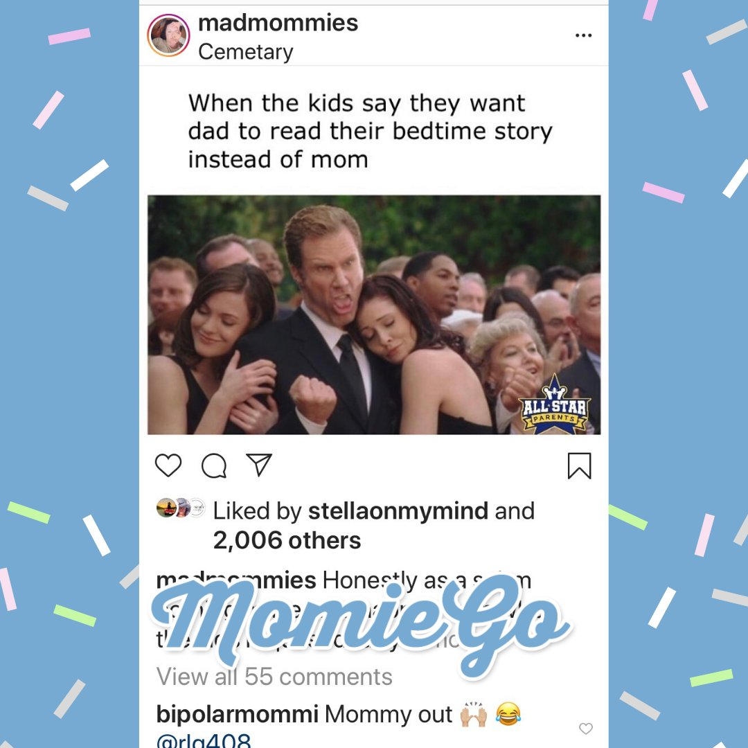 Swipe LEFT on all the dads that LOVE to read bedtime stories! #MomieGo #MomieBros #MomieGoApp #dadlife #SAHD #realdads #madmommies #allstarparentspic.twitter.com/GIswUxSG0f