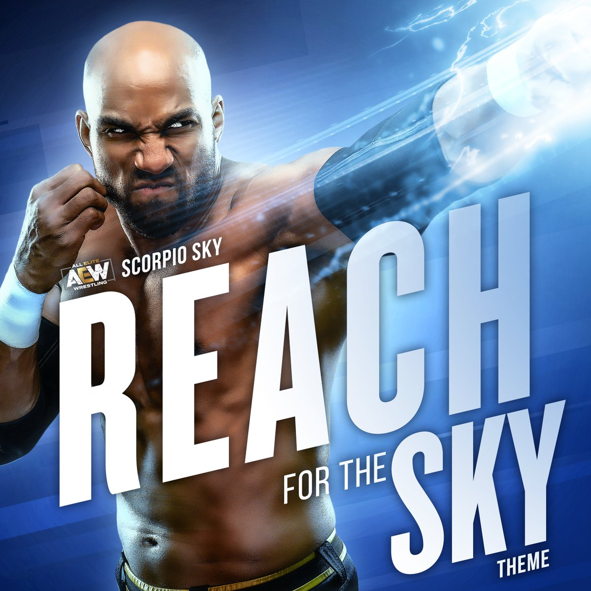 🚨DOWNLOAD ALERT!🚨 🔥🔥🔥🔥🔥🔥🔥🔥🔥 You want it?! YOU GOT IT!! Available NOW for early direct download, The Original #AEW Entrance Theme REACH FOR THE SKY for @ScorpioSky is LIVE!! Get your copy NOW. Hitting streaming platforms within the next week! bit.ly/2CgH2SL