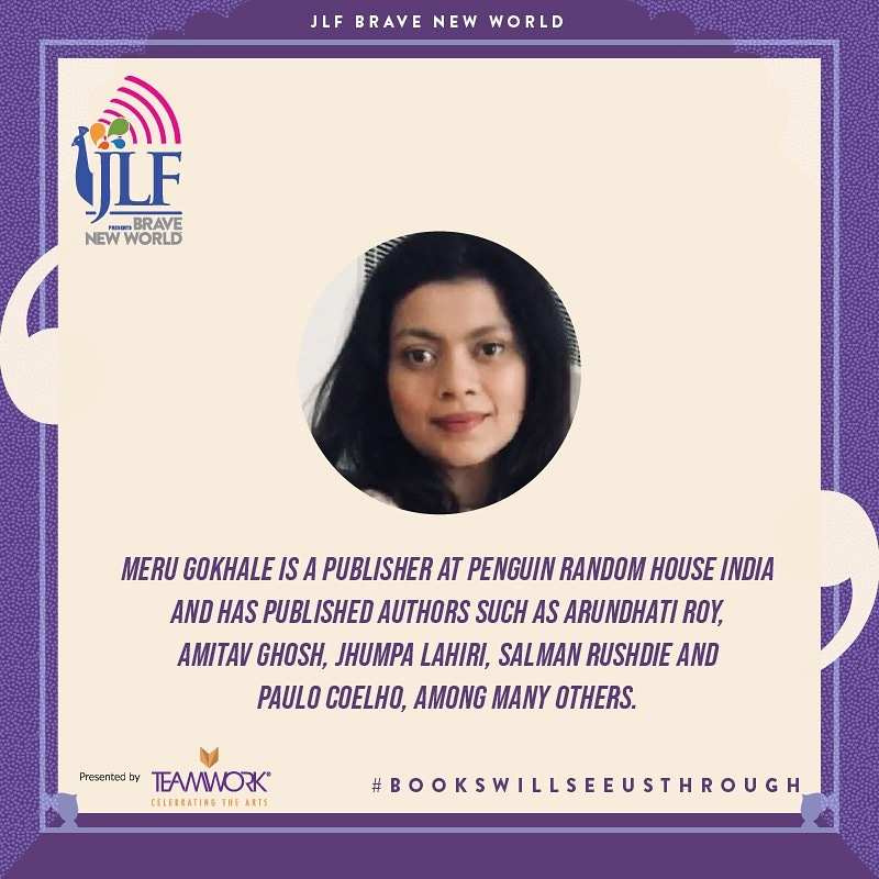 Fear of the unknown is the most debilitating of emotions. On #JLFBraveNewWorld on July 10, publisher @MeruGokhale speaks to mythologist & storyteller @devduttmyth on the archetypes of fear that must be overcome to deal with the realities of life as they are dealt out to us. https://t.co/RiM6AjBdzI