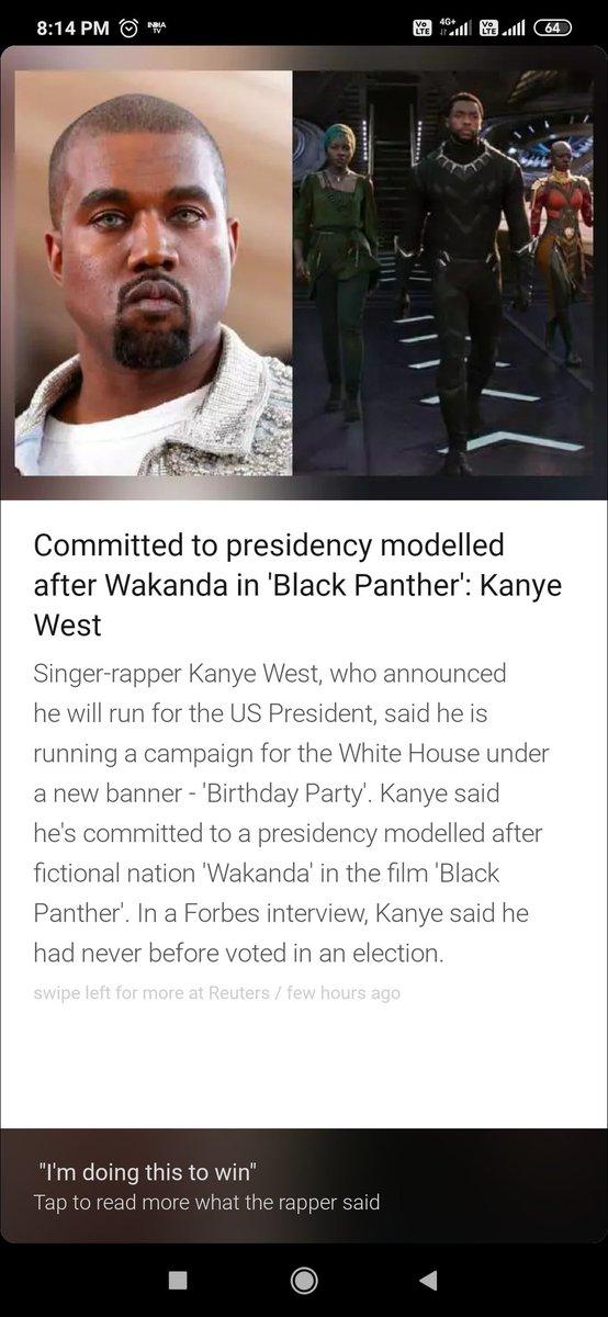 #US will see #black #KanyeWest  #KanyeforPresident2020 #KanyeWestIsAnIdiot running for #President election #USElection2020  The future #FirstLady  #KimKardashian #kimkardashianwest 😂😂😂