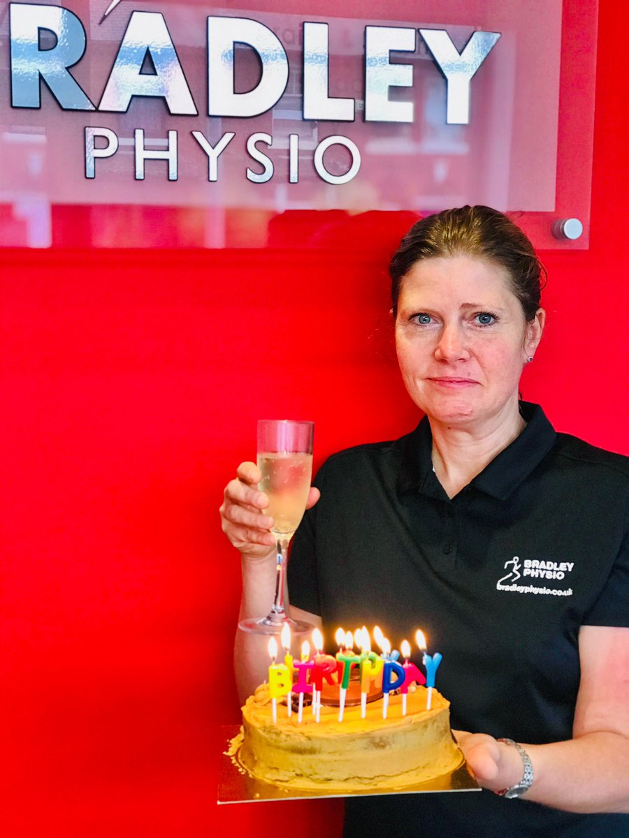 Somebody in the clinic has a big birthday this weekend & thanks to the Bradley Physio team the celebrations started this morning!! #birthday #birthdaygirl #birthdaycake #physiotherapy #physio #pilates #rochdale #bury #rossendalevalley #rossendalepic.twitter.com/a1ukbvku3W
