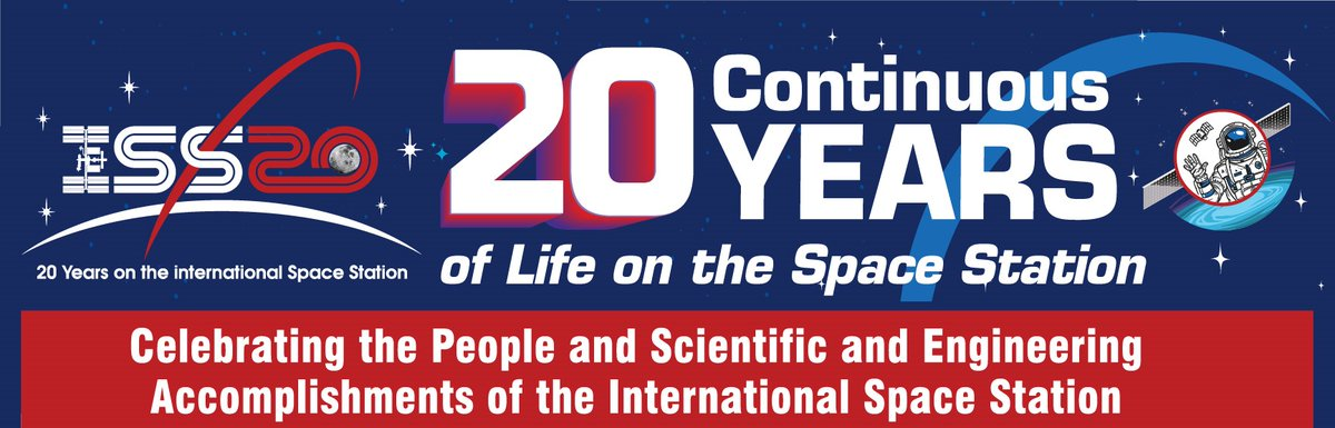 This year, we're observing the #SpaceStation20th anniversary of continuous human presence in space! That means if you were born on or after November 2, 2000, there have been humans in space every day of your life. Learn more about our orbiting laboratory: https://t.co/xz9XeuD30M https://t.co/eeVDE3MfFb