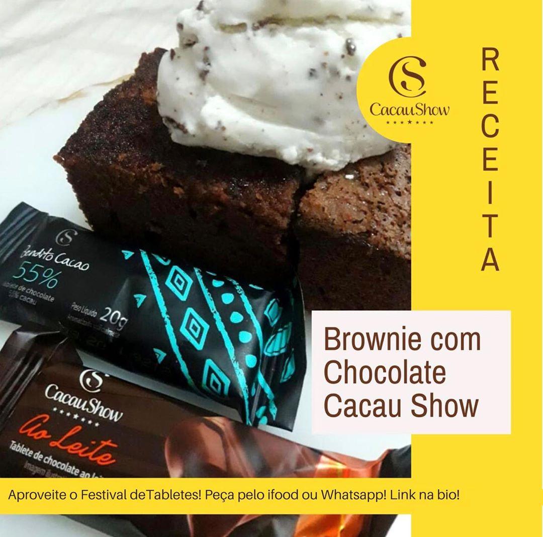 Que tal aproveitar o #FestivalDeTabletes para fazer aquela receita que todo mundo ama? 🙂 Veja essa dica de receitinha para fazer na sua casa e que de quebra vai arrancar elogios de todos! 😍  #cacaushow #chocolate #cacaulovers #cacaushowmaringaavpedrotaques #maringa #receita https://t.co/cWokmSBJxc