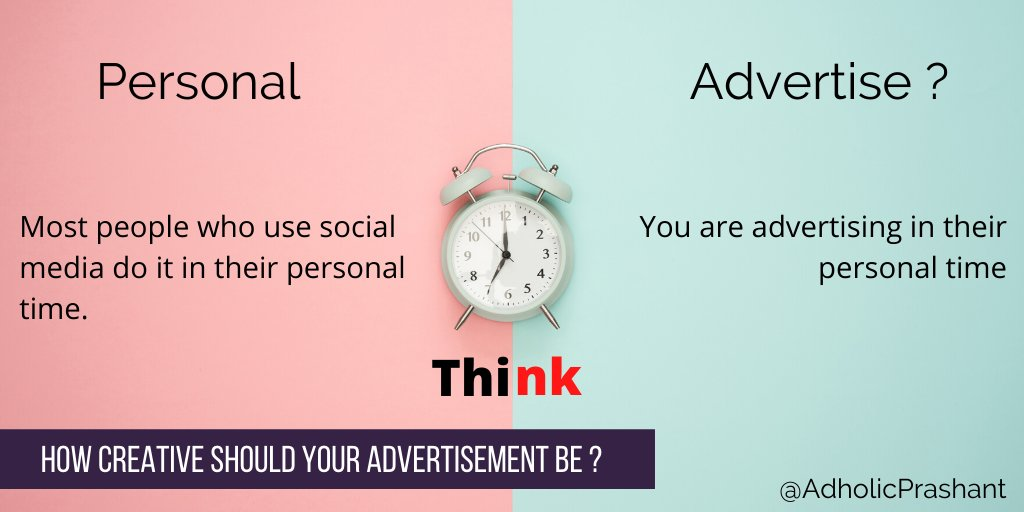 How creative should your advertisement be ?#digitalmarketing #digitalmarketingtips #digitalmarketingtips pic.twitter.com/52LB5ILxA7