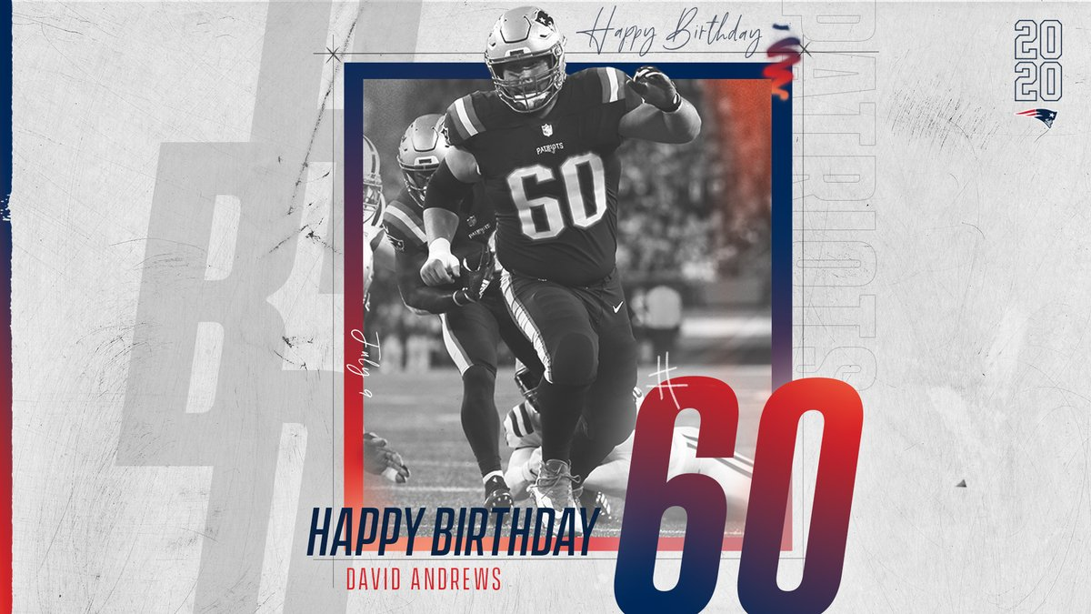 Birthday shout out to this guy! HBD, @dandrews61 🎂
