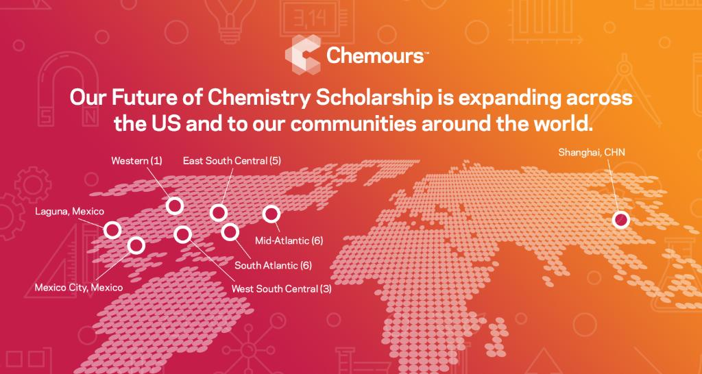 More exciting #FutureofChemistry news! As part of our commitment to increase access to #STEM skills for all, we're expanding our #FutureofChemistry Scholarship to empower students in our communities around the globe—including a nationwide expansion of our HBCU partnership. https://t.co/prB6tPMwIi
