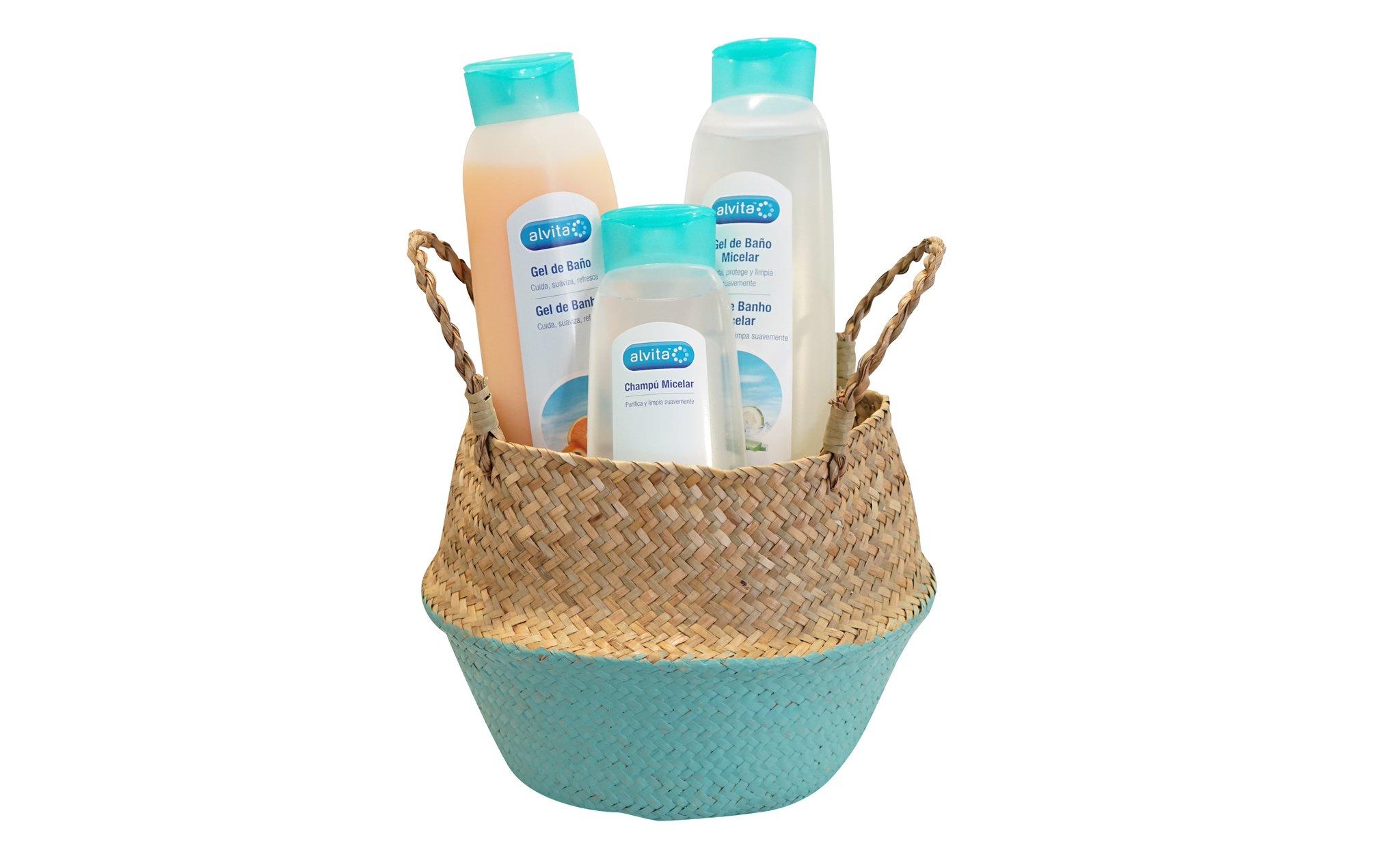 """Alliance Healthcare ES on Twitter: """"#SORTEO No pierdas la oportunidad de  ganar 1 de las 5 cestas #Alvita que sorteamos y descubre la nueva gama  micelar y el gel de baño naranja"""