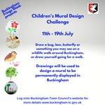 Image for the Tweet beginning: Enter the Children's Mural Design