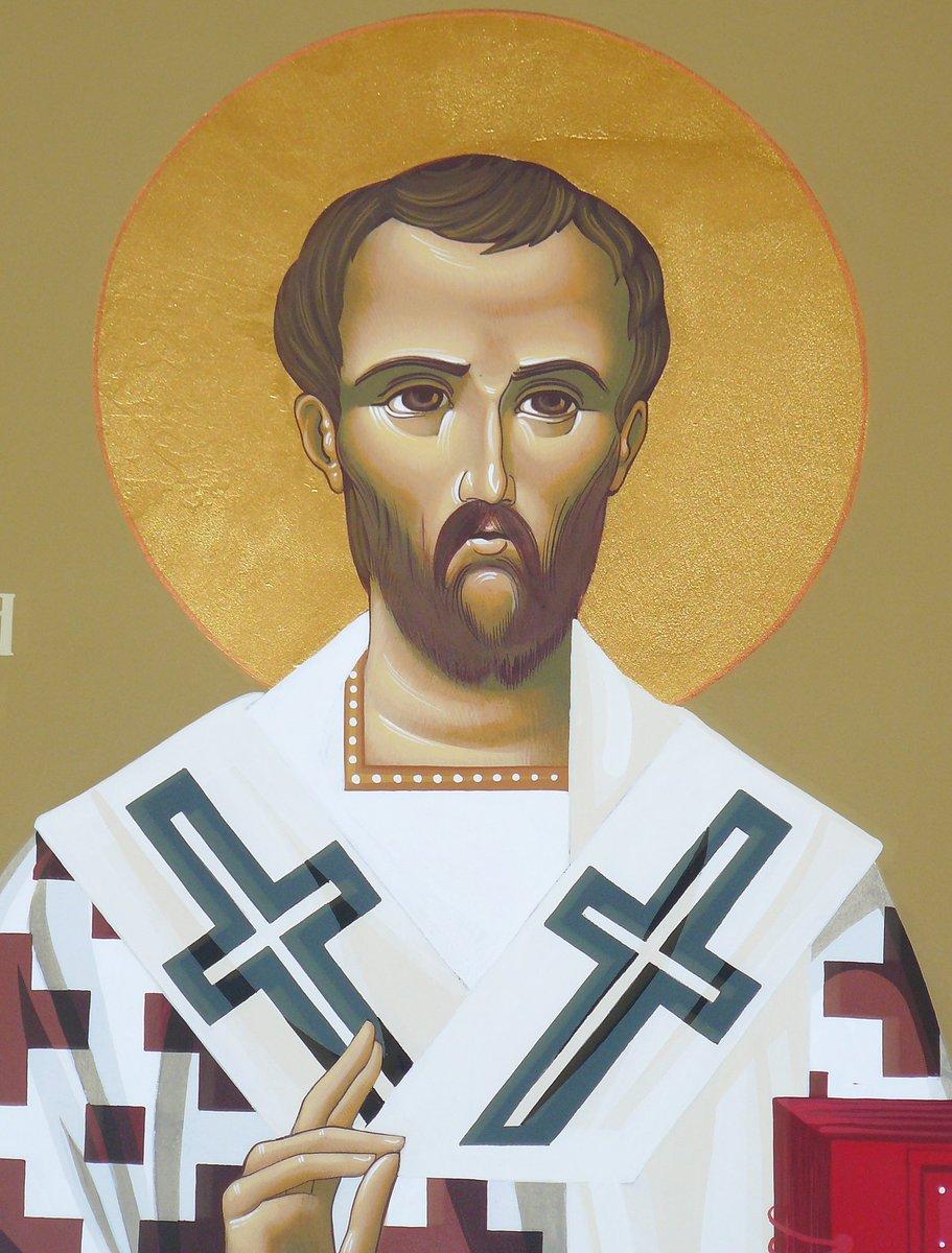 Some Trinitarian gold from Chrysostom.<br>http://pic.twitter.com/teS4IGSnAu
