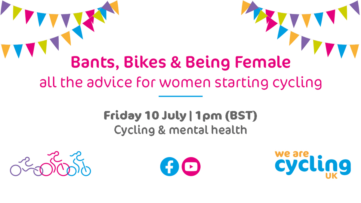 Tomorrow! A topic that most of us will identify with during these weird times. Cycling and mental health. The good, the bad, the positives, negatives and ultimately, looking after yourself. Tune in at 1pm https://t.co/sMKA0M9jG4 https://t.co/SDGcndQPMe