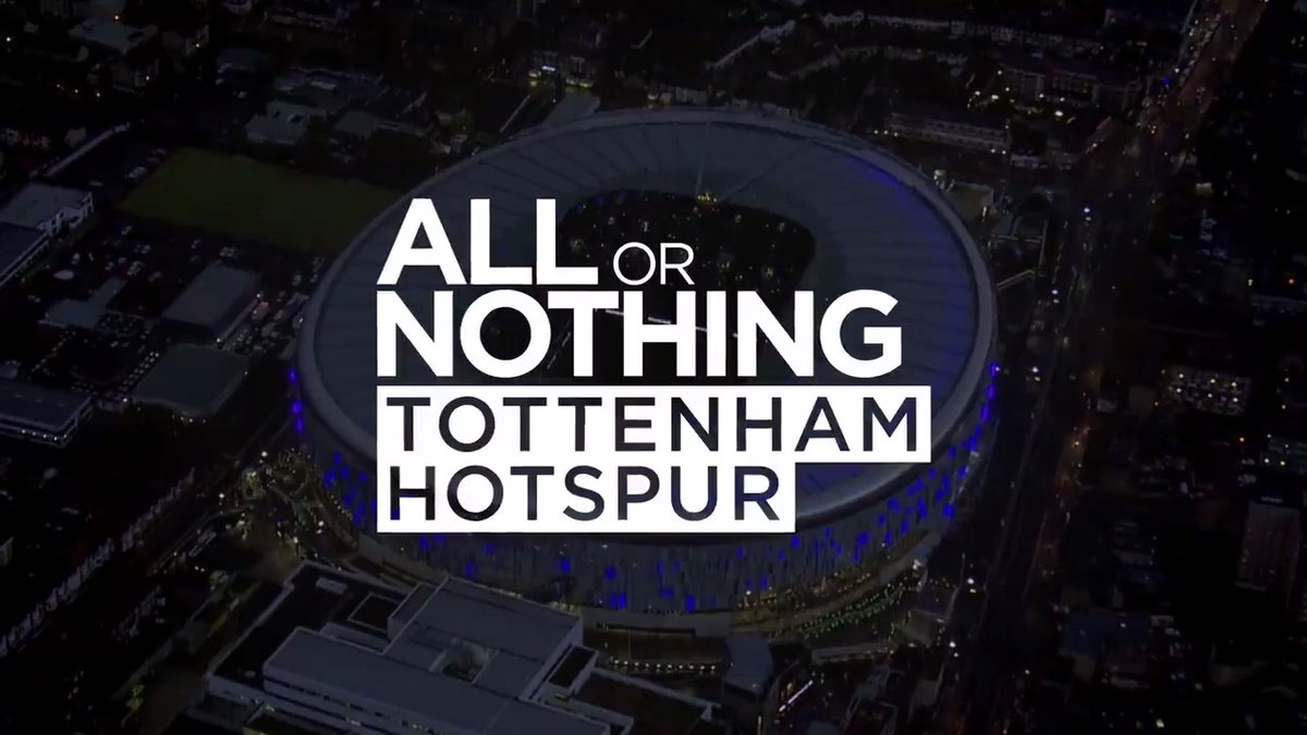 A season unlike any other...  #AllorNothingSpurs is NOT to be missed  Coming soon… https://t.co/c8sPXDlAIG