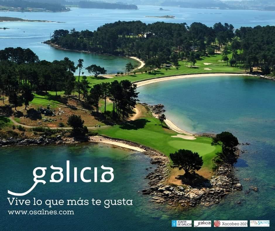 SABIAS QUE ...La comarca de O Salnes tiene 2 campos de golf?  Vive lo que más te gusta, Descubre O Salnés COMPARTE GALICIA  #Salnes #Riasbaixas #Galicia #Golf #IlladaToxa #OGrove #LaToja #Meis #Ribadumia #VisitOSalnes #Deporte #playa