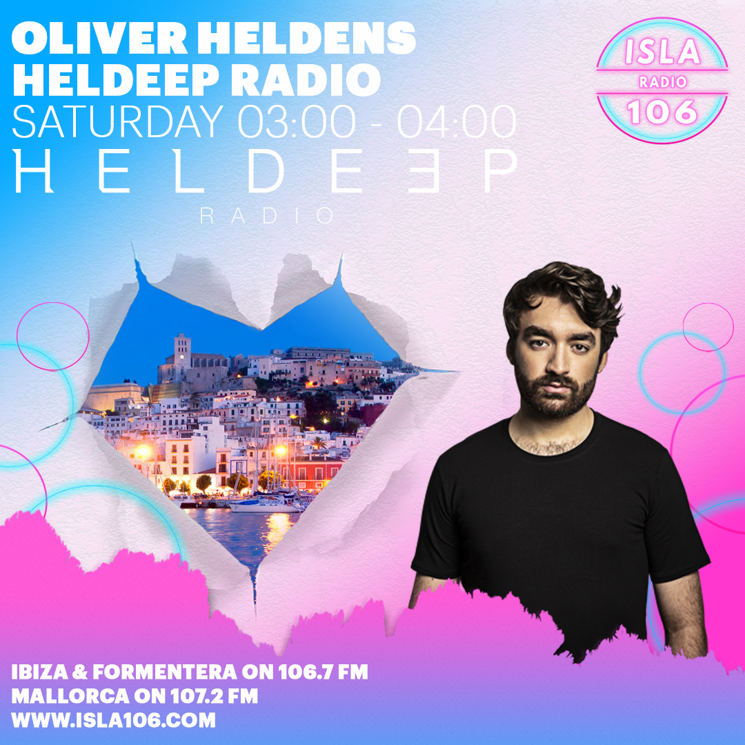 New radio station for @HeldeepRecords Radio! 😎 Check out @isla106radio at 3am tonight in Ibiza, Formentera and Majorca! 🇪🇸🌈🕺 https://t.co/Gu2zEPxL2h https://t.co/x7FPGYu1Ez