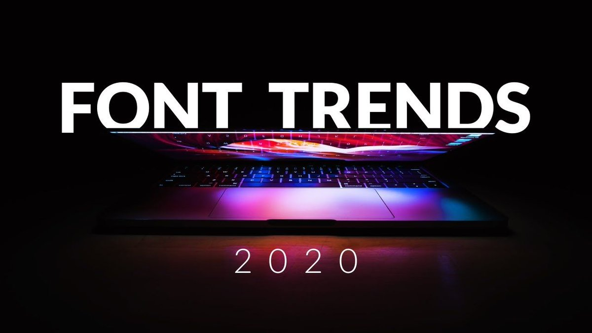 😍Welcome 6 HUGE font trends 2020 that will dominate in graphic and web design: https://t.co/PCl0k9AJHd https://t.co/oJnI78dYBv