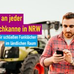 "Image for the Tweet beginning: 📱 ""Auf dem Land brauchen"