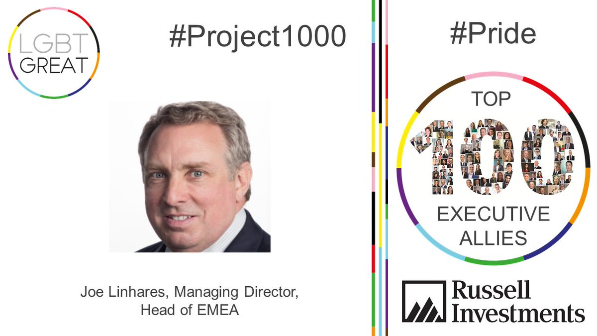 """Allyship is truly intersectional. It's a way to forge deep connections between people with different backgrounds"" - Joe Linhares, Managing Director, Head of EMEA, @Russell_Invest #Project1000 #Pride #YouMeUsWe https://t.co/h4zmZbRJwZ https://t.co/H7rdHkrljR"