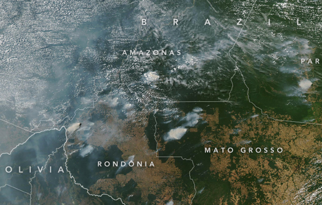Conditions in the Amazon rainforest this year are setting the stage for a fire-heavy season. @NASA scientists work on an annual Amazon fire forecast. go.nasa.gov/38IaFIG