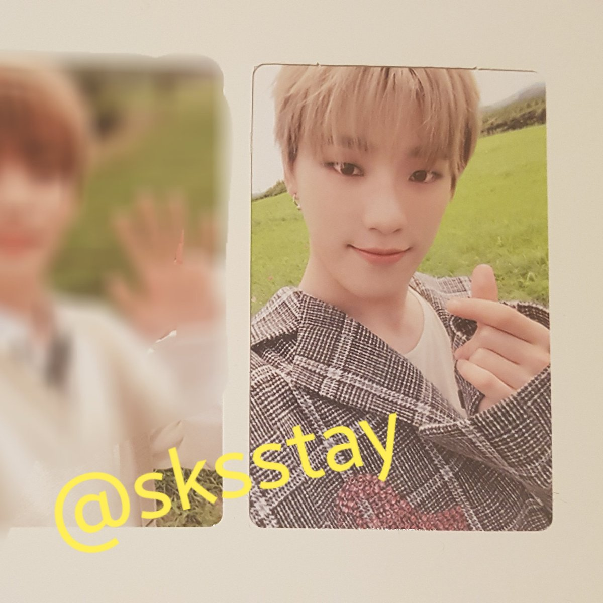 [#WTT] Want to trade Please help RT!  have: DINO pc hope version (in 1st two pics) want: 3rd pic (jeonghan & the8 priority)  Loc: The Netherlands WW: only europe  DM me if you're interested.  #Seventeen #SEVENTEEN_An_Ode