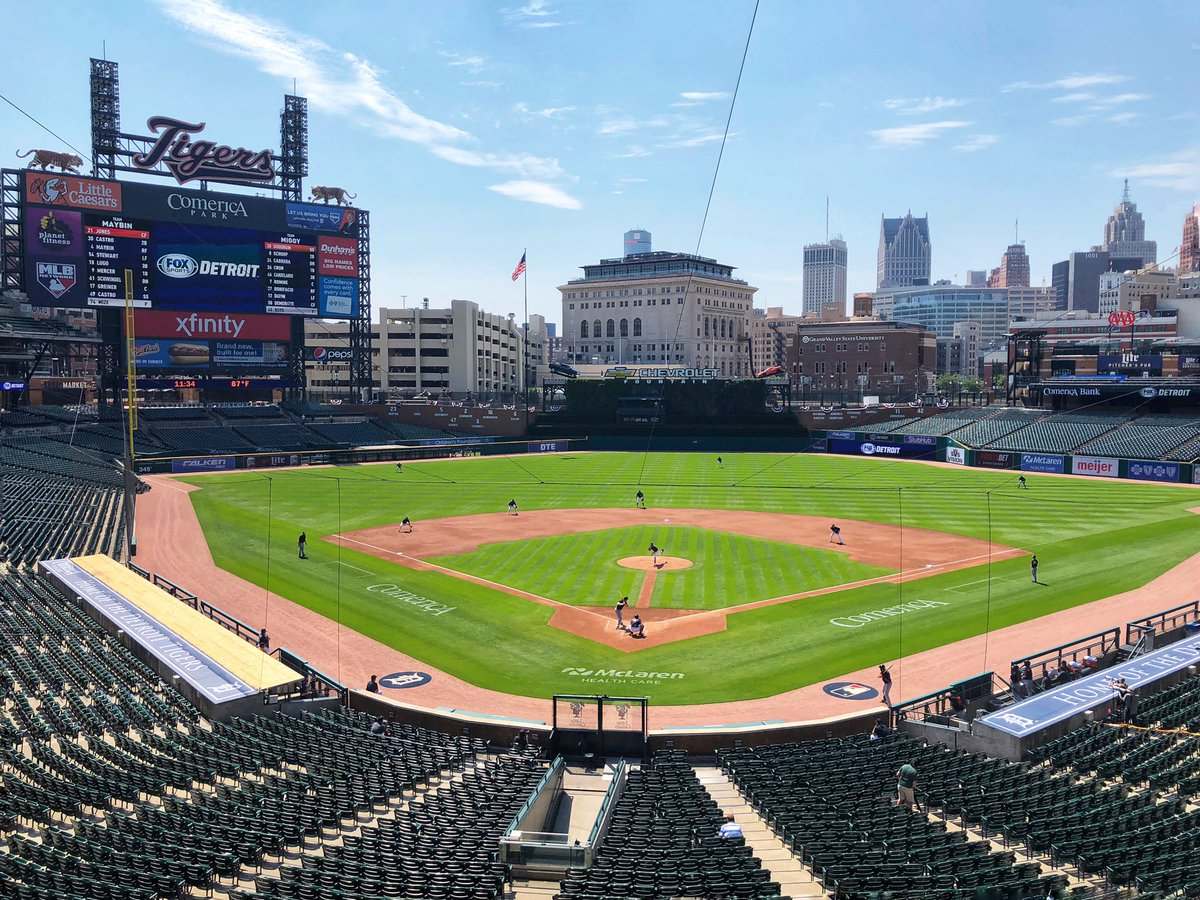 Boyd vs Mize in the @tigers second intrasquad game. #SummerCamp2020 https://t.co/c4in3Umpgh
