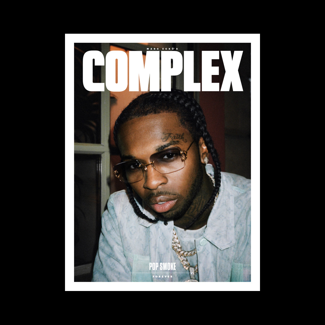 """Designed the July 2020 cover story for @Complex. Pop Smoke Forever. Absolutely wouldn't have finished this without """"Meet The Woo 2"""" & """"SFTM,AFTS"""" playing at 1am.  Read here: https://t.co/LWJc6t9WAx  Words by the great @ericskelton https://t.co/c4GRY1hGDL"""