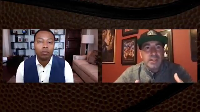 """""""Every single person that was in that gym had their lives changed.""""  Scott Budnick on the #PlayForJustice program, bringing together NBA teams and incarcerated people for conversations about redemption and basketball @WeRepJustice #NBAVoices  1-on-1 with Caron Butler 7pm/et @NBA https://t.co/LQn3LIIksi"""