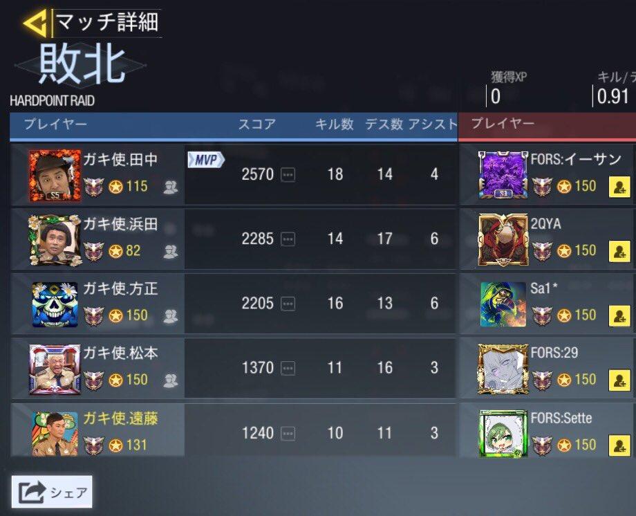 7/8 23:00〜GGL  ガキ使 vs FORS...