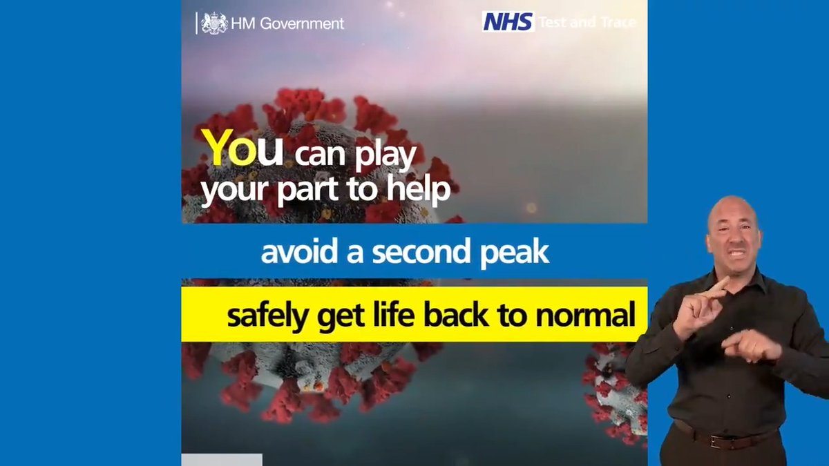 You can play your part to help control the virus and get life back to normal. Heres what we need YOU to do ⬇️ gov.uk/guidance/nhs-t…