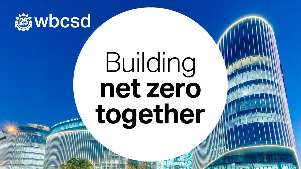 #Building and #construction companies need a common language to meet the #ParisAgreement and limit global warming to 1.5°C. Our new Building System Carbon Framework enables companies to #ActOnClimate together & reach #NetZero. wbcsd.org/f7lo9