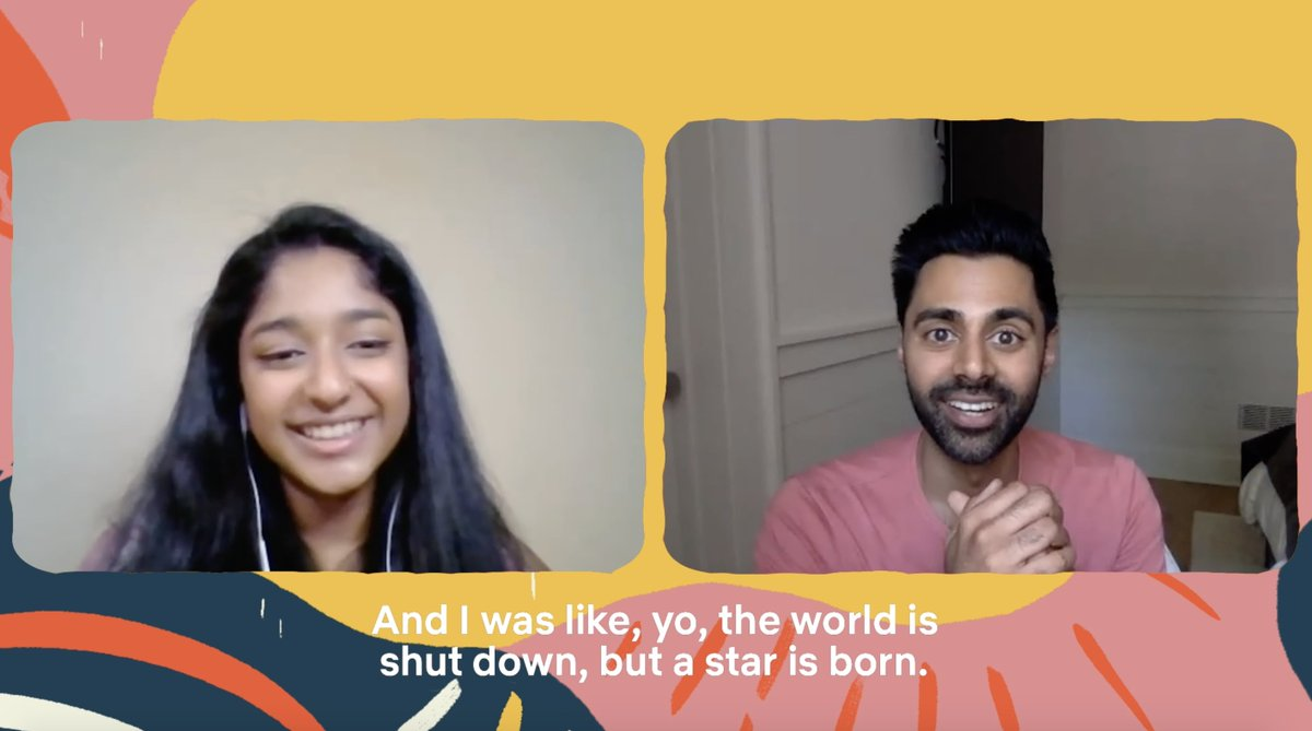 Hasan Minhaj and Maitreyi Ramakrishnan are really big fans of one another — so we introduced them!