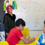 Image for the Tweet beginning: Education is crucial for refugee