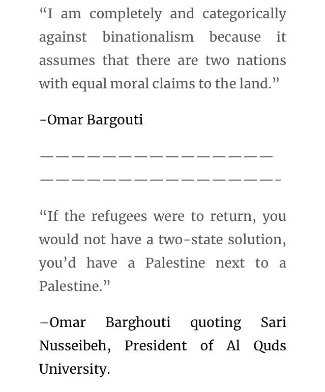 I'll take the brutal honesty of Omar Barghouti, the founder of BDS, any day over the bleeding heart morons of antizionist Jewish twitter.  ANY DAY! https://t.co/HnQ9BbpEfT