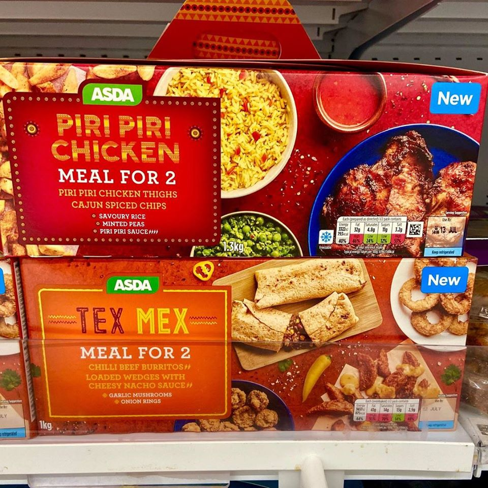 OMG 😍 These meal boxes from Asda! Perfect night in 😱(newfoodsuk)
