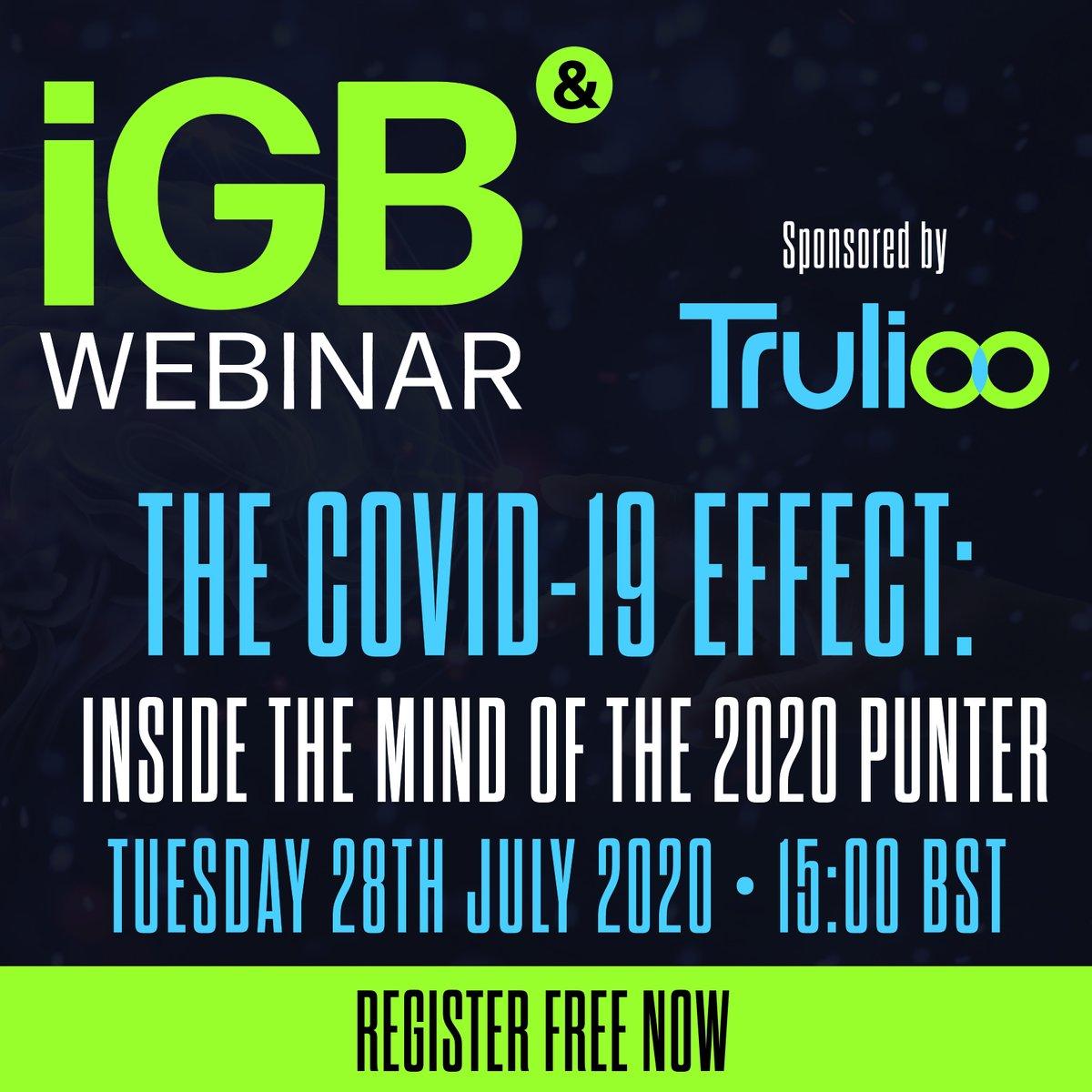 NEW WEBINAR: The COVID Effect - inside the mind of the 2020 punter  Register below! https://t.co/5K5eO7Mfui https://t.co/jmMyTg7jRz