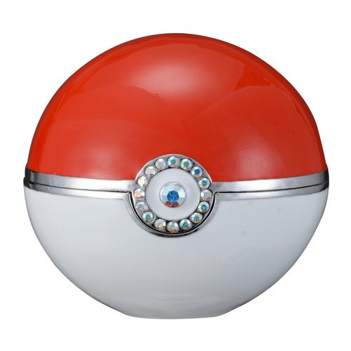 The rings come in a custom Poké Ball