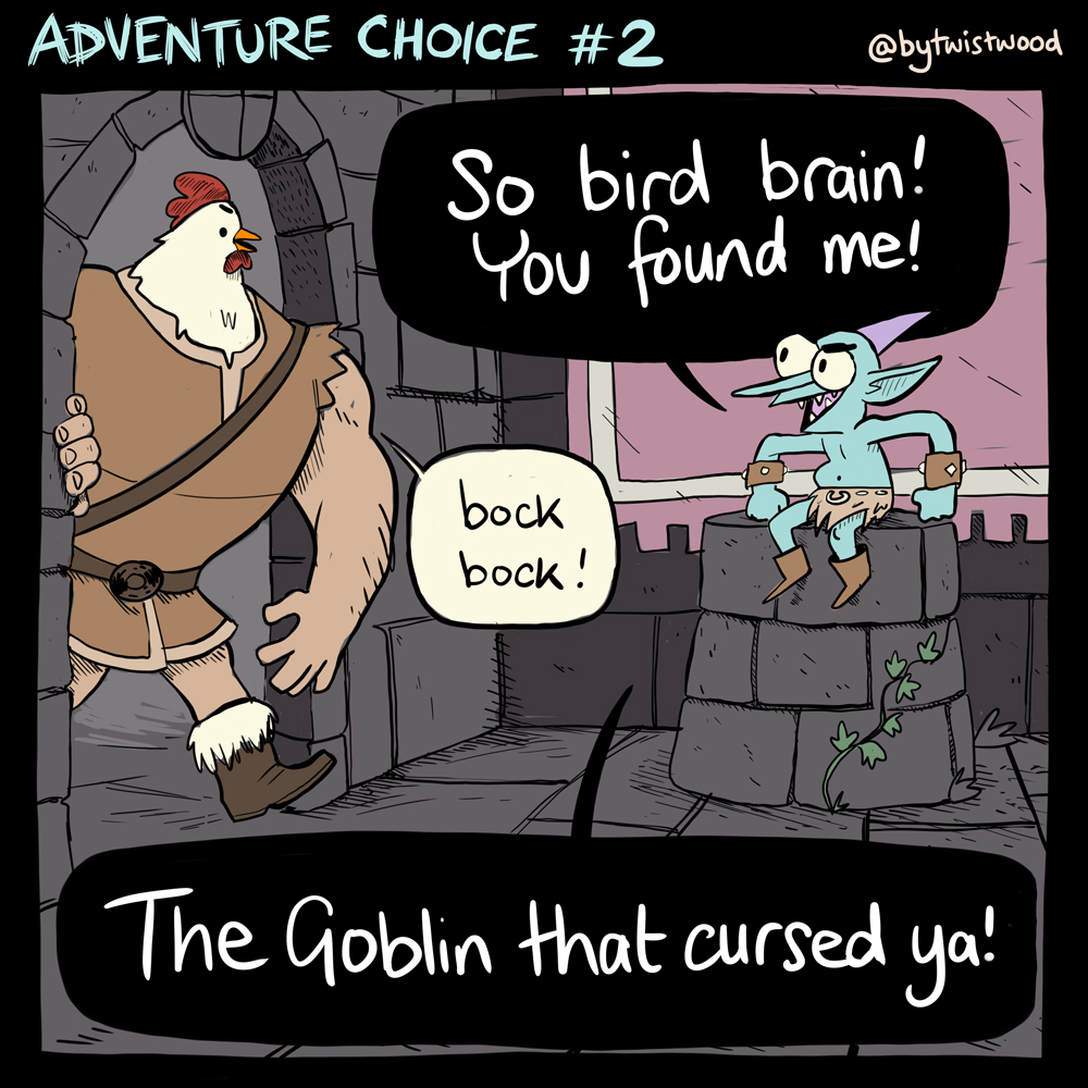 Adventure Choice #2! (1/2)