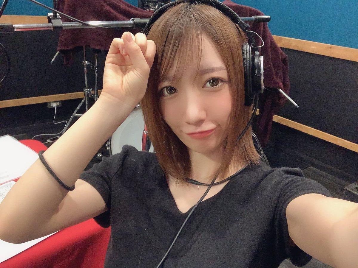 美容院の前にラジオ「#清水あいりのラジぷゆ 」収録でした📻こんなに伸び切ってた…