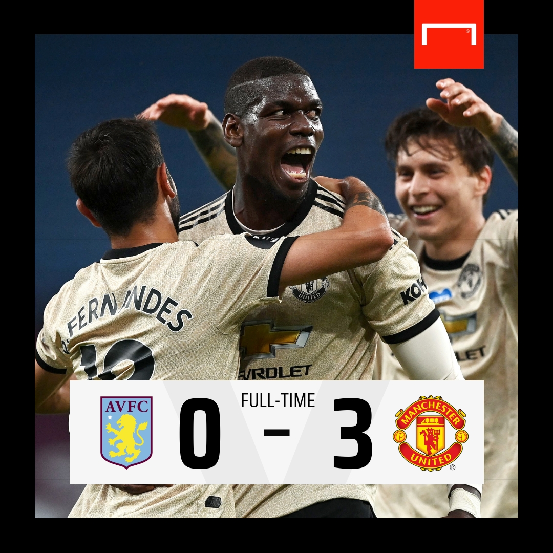 Another big win for Man Utd 🔥 #AVLMUN