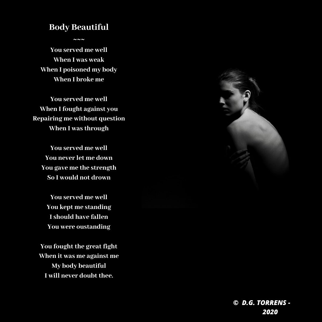 Poem - Body Beautiful #poem #Poetry_Planet #poet https://t.co/WSkiPwG481