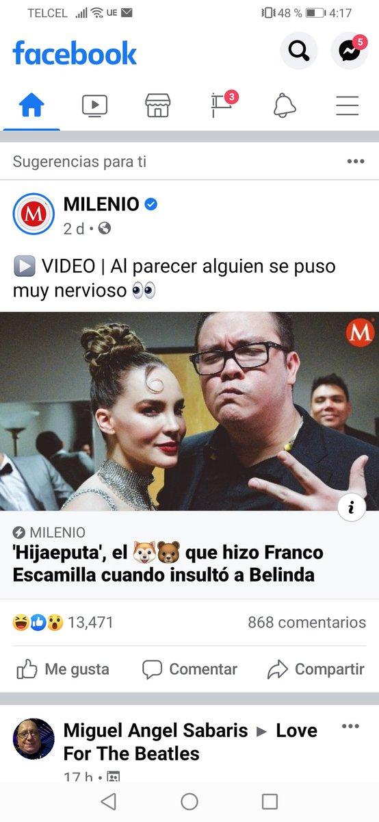 @franco_esca no seas mamón. Las noticias de Milenio son anécdotas que se cuentan en #LaMesaRenonaEnVivo https://t.co/0lzq1RD74D