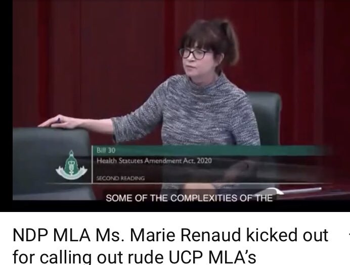 https://youtu.be/Mk1g0oh42Dg #ethics #Alberta #StrongWoman #MarieRenaudpic.twitter.com/jOFJAz20dy
