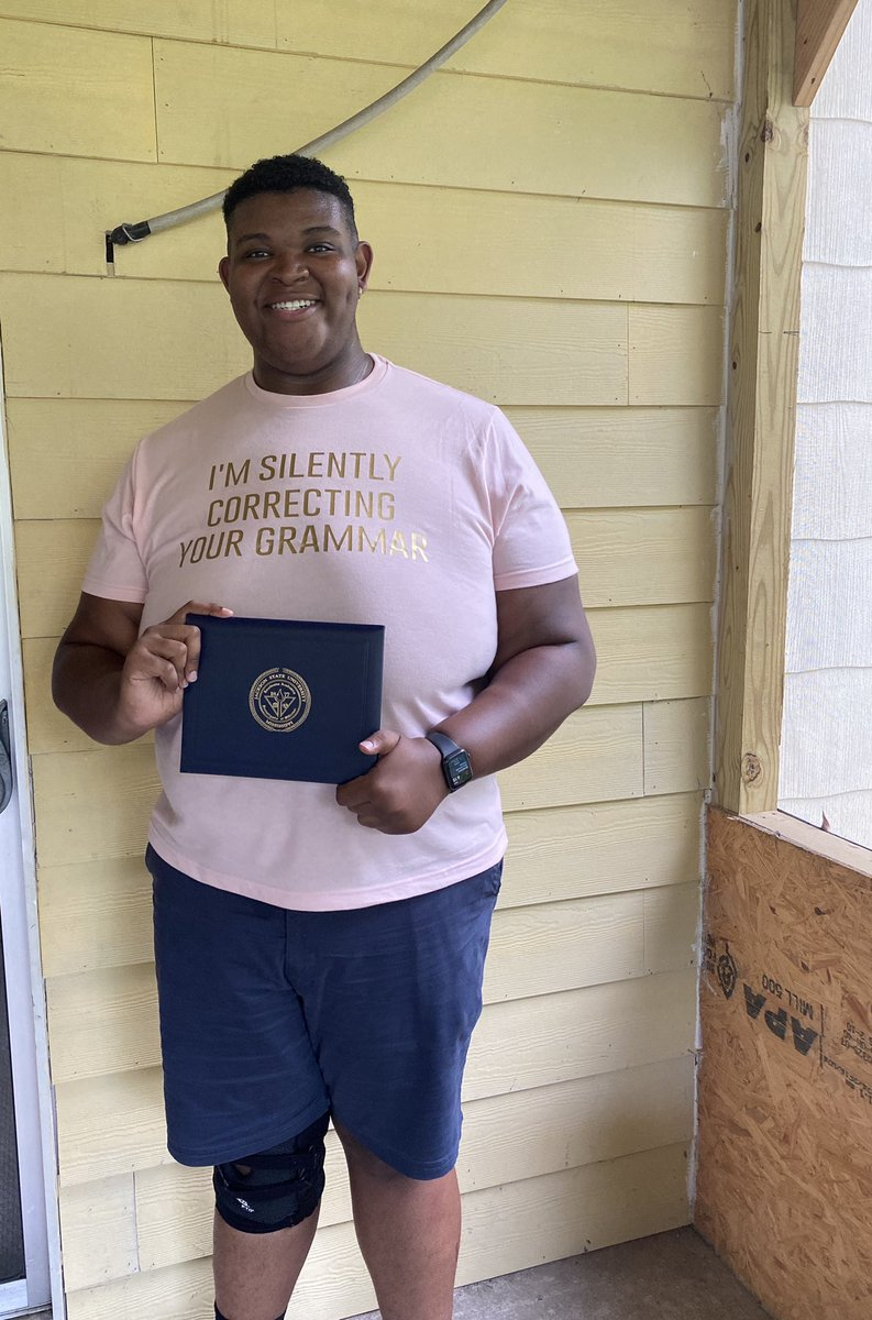 After a few weeks of waiting, my Biology Bachelor of Science Degree from the illustrious Jackson State University has finally arrived. https://t.co/P10glwKU6M https://t.co/FngQIvHfwI