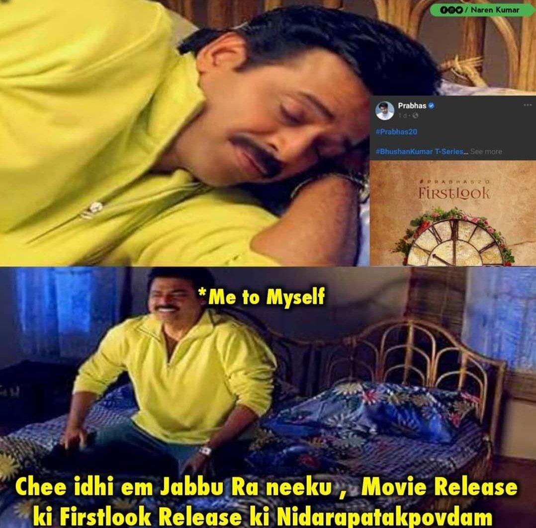 Me Right Now  #Prabhas20 #Prabhas  #5YearsForBaahubaliRoarpic.twitter.com/COGnPc26pN