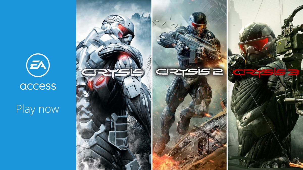 It's hard to call it a vacation, but you do get to go to a tropical island.  Crysis 1, 2, and 3 now on @EAAccess.   Explosions and sunshine await:   https://t.co/R2N7R7EzDm https://t.co/Z7C3NpBZcD