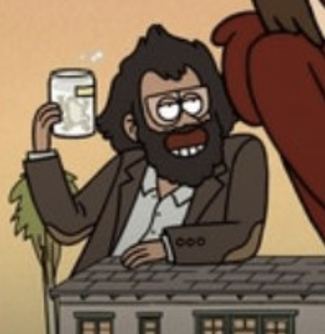 @pattymo immediately intuited that this guy was voiced by jason mantzoukas