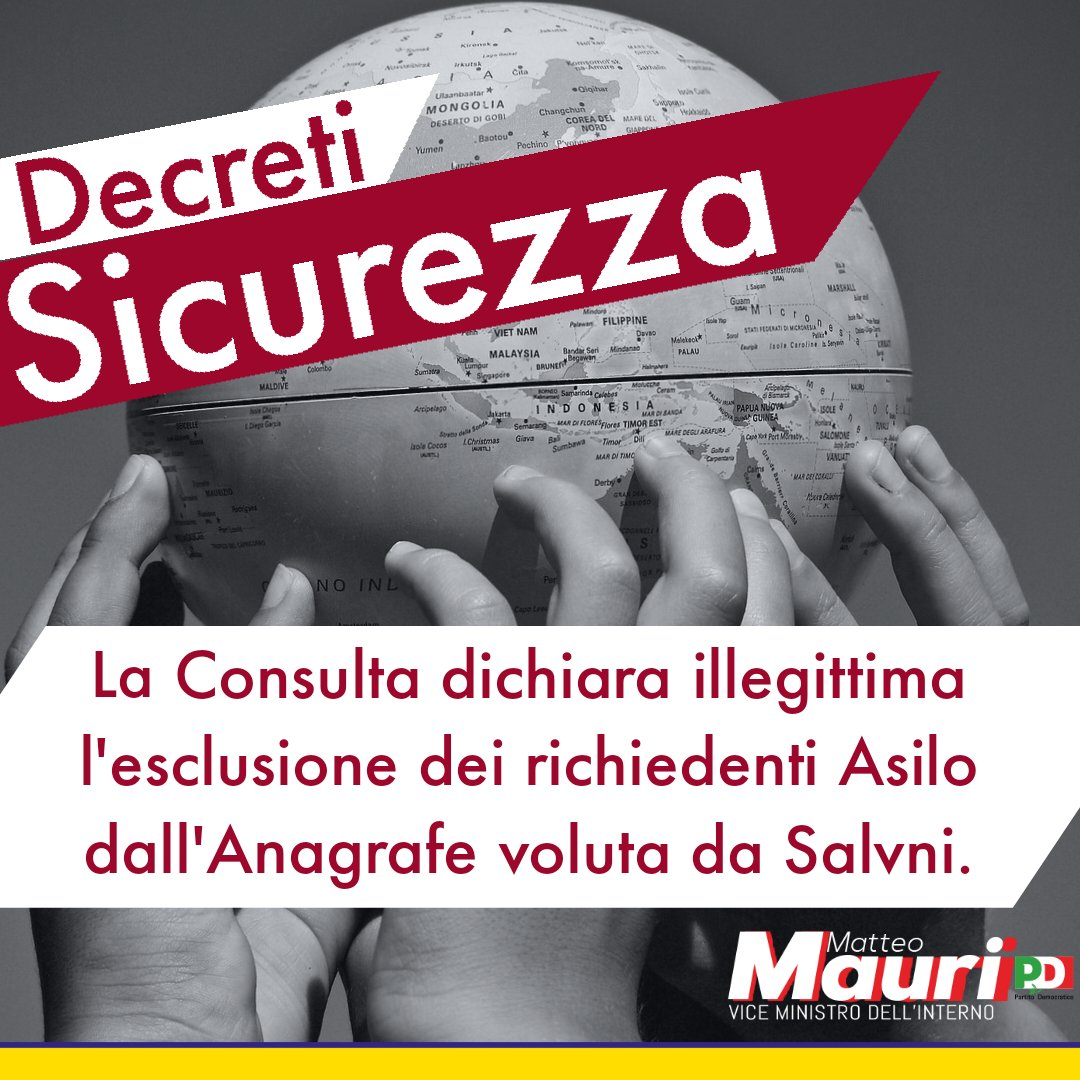 #DecretiSicurezza