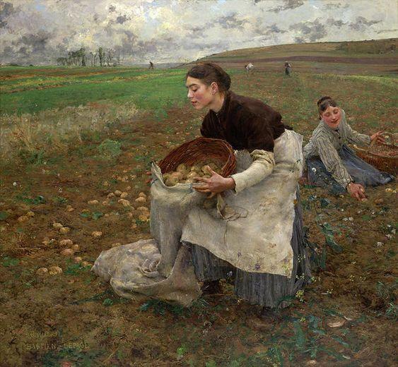 .@Elena27378337  #art #arte #artLovers #painting Jules Bastien-Lepage - October, 1878pic.twitter.com/oMDk0X9VqD