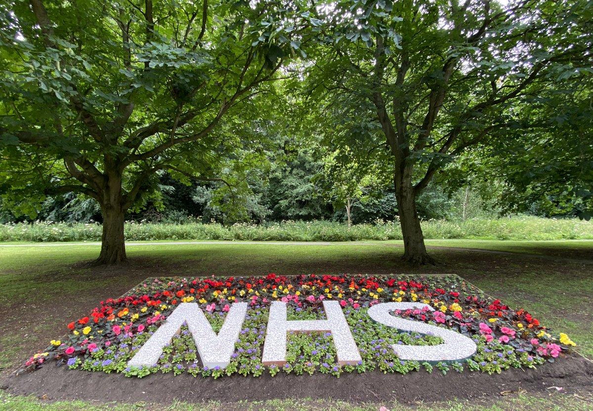 Thank you NHS, The Farquhar Deuchar Park in Morpeth Northumberland #NHS #NHS72 #NHSheroes #NHSVolunteerResponders #NHScomms #NHSThankYou #Morpeth #MORPETH #Northumberland #northumberlandphotos https://t.co/REwVmArcNC